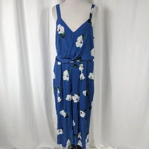 A New Day Floral Print Jumpsuit